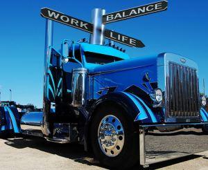 Healthy trucker. WorkLife
