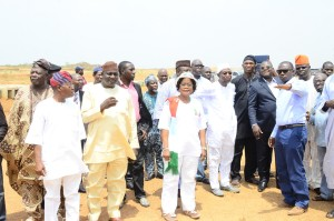 Inspection of Moshood Abiola Int'l Airport Osun