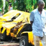 TRUCK CRUSHES FOUR TO DEATH IN MUSHIN
