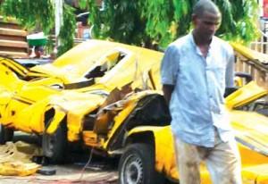 Accident @Mushin