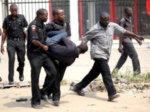 Man arrested for stealing