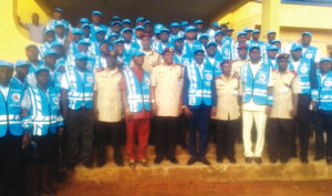 FRSC NEWLY INDUCTED OFFICERS