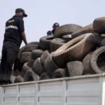 SON SEIZES 2000 USED TYRES IN IBADAN