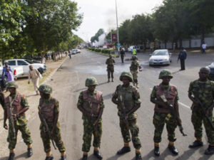 Army reopens road