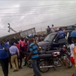RAMADAN DISASTER: THREE DIE, SEVERAL INJURED AS CONTAINER FALLS ON BUS IN LAGOS