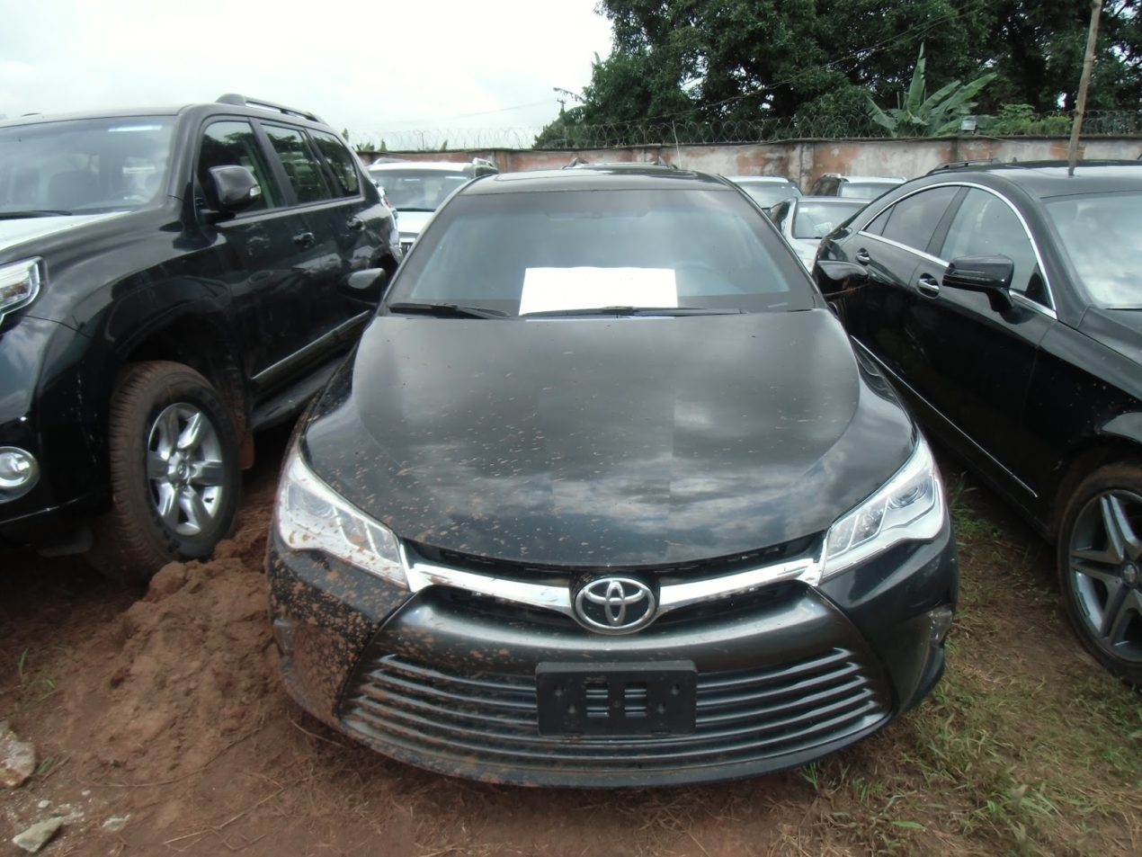 Customs Impound Bullet Proof Cars