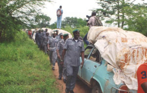 Customs Impound Vehicles