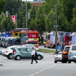 PUBLIC TRANSPORT SUSPENDED IN MUNICH AS GUNMEN KILL 6