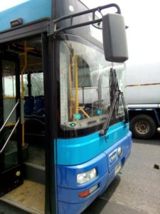 Vandalized BRT Buses2