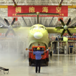 CHINESE STATE COMPANY UNVEIL WORLD'S LARGEST SEAPLANE