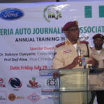 DRIVING TEST IS COMPULSORY FOR PROSPECTIVE DRIVERS, SAYS CORPS MARSHALL