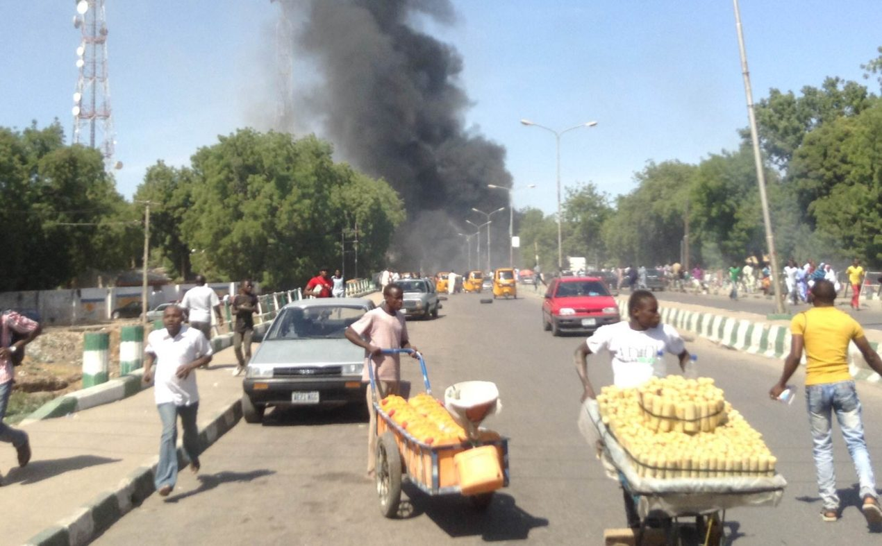 Reopened Road bombed