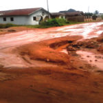 EDO COMMUNITY PROTESTS DEPLORABLE ROAD