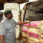CUSTOMS IMPOUNDS 37 VEHICLES OF SMUGGLED RICE