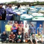 NAVY NABS OIL THIEVES, SEIZES ADULTERATED DIESEL