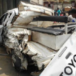 TRAILER CRUSHES SUSPECTED POLICE ESCORT IN CROSS RIVER
