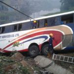TRAGEDY AS GUO LUXURY BUS PLUNGES INTO MAJIDUN RIVER (PICTURES)