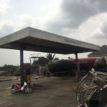 THREE LIVES LOST, A.A. RANO LPG TANKER, HOUSES AND CHURCH BURNT IN ONITSHA GAS PLANT EXPLOSION (PICTURES)