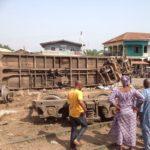 KANO BOUND TRAIN DERAILS IN OSOGBO