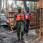 NIGERIA CRACKS DOWN ON ILLEGAL OIL REFINERIES