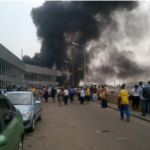 FIRE ENGULFS FAAN HEADQUARTERS, NORMAL SERVICE ON