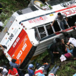 26 KILLED AS PHILIPPINES BUS PLUNGES INTO RAVINE