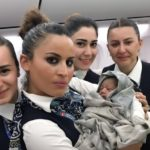 WOMAN DELIVERS BABY GIRL ONBOARD TURKISH AIRLINES