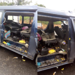 MAY 1ST DISASTER: 4 BURNT TO DEATH IN LAGOS-IBADAN EXPRESSWAY ACCIDENT