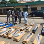 CUSTOMS INTERCEPTS 440 PUMP ACTION RIFLES, OTHERS AT LAGOS PORT (PICTURES)