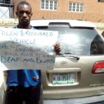 POLICE ARREST DEAF AND DUMB SUSPECT FOR ALLEGED CAR THEFT