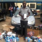 SLOT'S DRIVER DIVERTS N6MN WORTH OF GOODS, ARRESTED IN KADUNA
