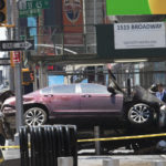 WOMAN KILLED, 22 INJURED AFTER CAR PLOWS INTO PEDESTRIANS IN TIMES SQUARE