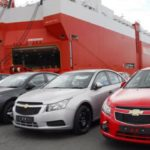 NEW VEHICLE IMPORTS FALL BY 90 PER CENT