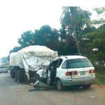 FOUR DIE, FIVE INJURED IN OGUN AUTO CRASH