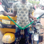 WE SELL STOLEN KEKE FOR 80,000; MOTORCYCLE, N40,000.00 – SUSPECT