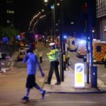 HOW VAN SMASHED INTO PEDESTRIANS ON LONDON BRIDGE