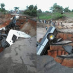 HEAVY RAINFALL COLLAPSES BRIDGE AT MOKWA-JEBBA ROAD IN KWARA STATE (PICTURES)