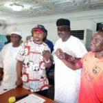 OSHODI CRISIS: NURTW EXECUTIVES, MC OLUOMO, KOKO, TALO SETTLE THEIR RIFT (PHOTOS)
