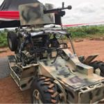 NIGERIAN ARMY INAUGURATES LOCALLY FABRICATED PATROL VEHICLES (PICTURES)