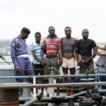 NAVY SEIZES FIVE VESSELS, ARRESTS 76 SUSPECTED OIL THIEVES