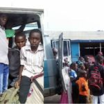 FRSC ARREST SUSPECTED TRAFFICKERS WITH 44 MINORS IN KADUNA