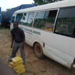 FEDERAL UNIVERSITY OF AGRICULTURE' COASTER BUS USED FOR TRANSPORTING MARIJUANA IMPOUNDED BY CUSTOMS