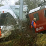 30 PASSENGERS INJURED IN SWISS RAILWAY CRASH