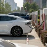 TESLA BUILDS LARGEST CHARGING STATION IN BEIJING