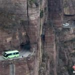 CHINA'S MIRACLE HIGHWAY ON A CLIFF